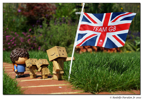 """Good luck Team GB!"" 