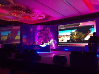 Yahoo! Connected TV, hacked! Voice calls and synced video. #openhackindia | by uberlife