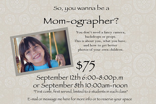 mom class flyer2 | by RGH Photo