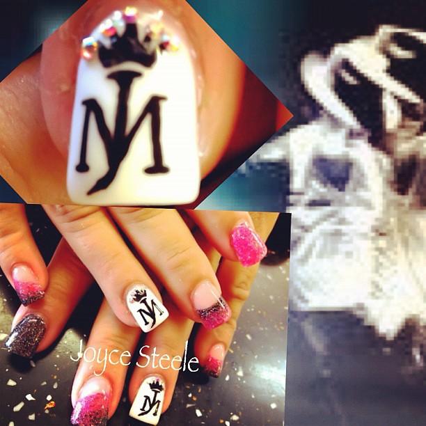 Michaeljackson Kingofpop Crown Crownnails Nails Nail Flickr