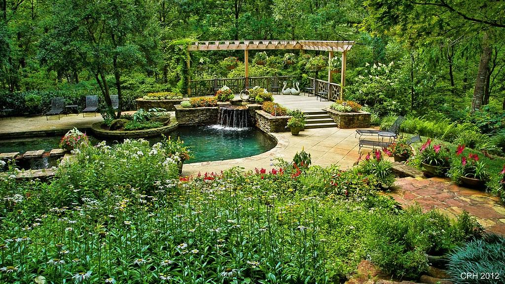 447) Ball Ground GA, Gibbs Gardens - Manor House - garden …   Flickr