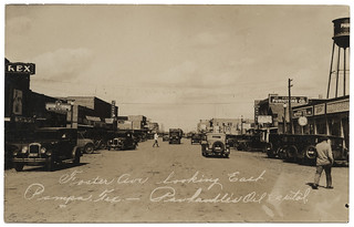 Foster Ave. looking East, Pampa, Tex. | by SMU Central University Libraries
