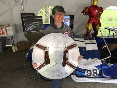 Tracey and the Captain America Shield | by Disney, Indiana