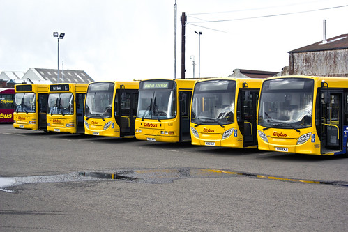 Glasgow CityBus Line Up | by Jim Bavin (Thanks for 3.5MILLION Views)