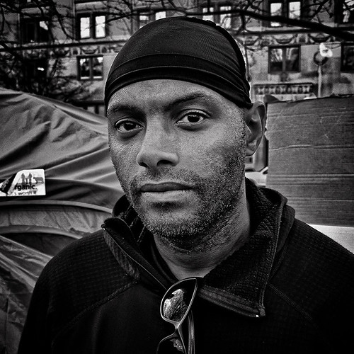 "'C-Money', ""An Original Occupier,"" Occupy DC, McPherson Square, Washington, DC 