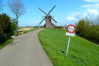 Maximum height 2.30 meter if the windmill is in operation | by Michiel2005