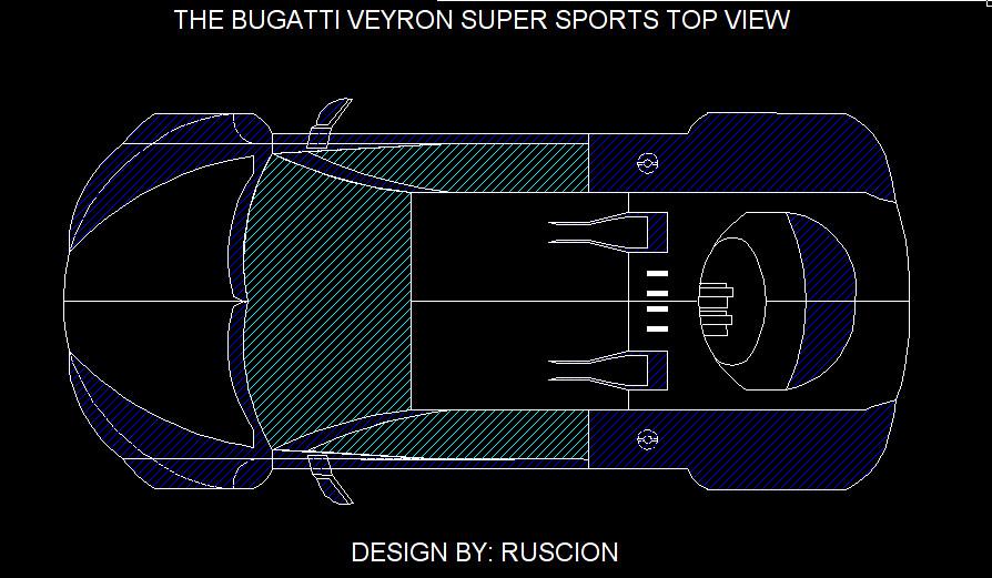 bugatti top view. bugatti veyron super sport (top view) | by jetlinear top view