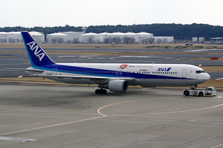ANA - All Nippon Airways Boeing 767-381(ER) JA610A NRT 20-03-12 | by Axel J. ✈ Aviation Photography