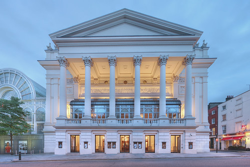 The Royal Opera House entrance on Bow Street © ROH 2012 | by Royal Opera House Covent Garden