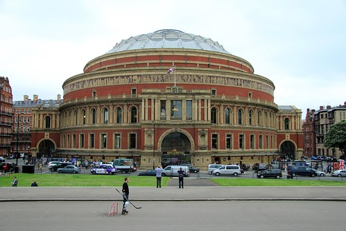 Royal albert hall 26 06 2012 the royal albert hall is a for Door 8 royal albert hall