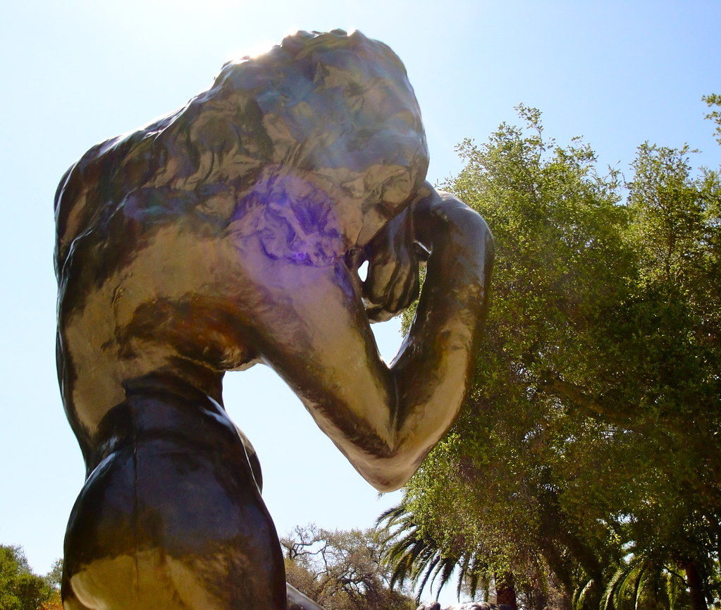 A sculpture in the Rodin Sculpture Garden. | virginiagirard | Flickr
