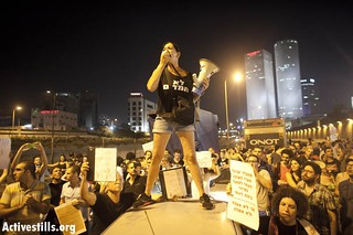 Protest in solidarity with Moshe Silman, Tel Aviv, Israel, 15.7.2012 | by Activestills