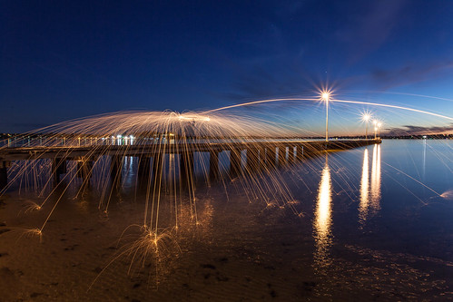 Light Painting Como Jetty | by collectionselements