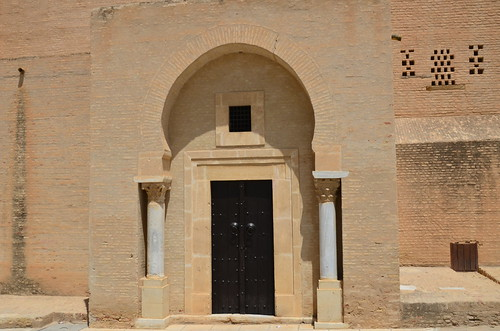 Kairouan, Great Mosque, imam's entrance in qibla wall (2) | by Prof. Mortel