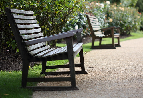 Benches in the park | by laujhil