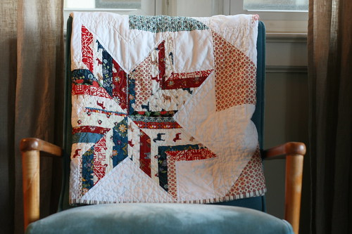 Folk Star Throw | by all buttoned up