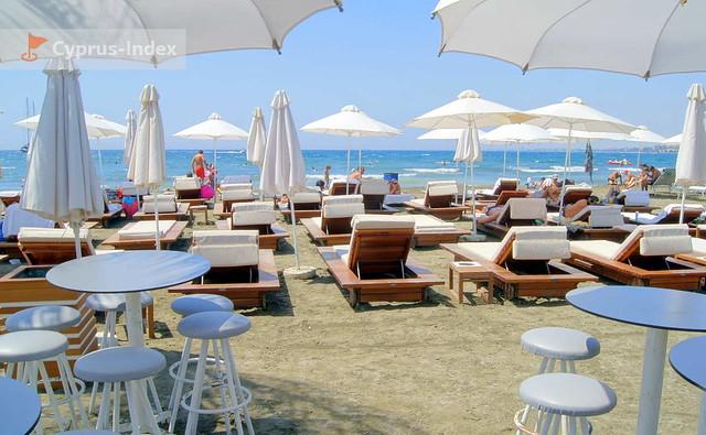 Vip-зона пляжа Малинди, Лимассол, Кипр