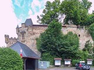 Schloss Dhaun nach 16 km
