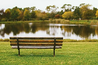 A seat by the lake | by VirtualWolf