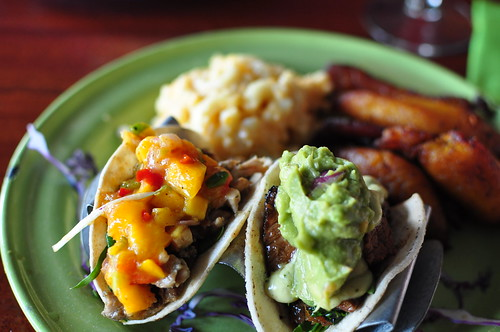 Jerk Chicken and Calypso Beef Tacos - The Rum House, NOLA | by meghensley