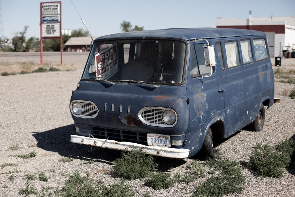 Old Blue Ford Van For Sale | Ford Falcon | Josh Bassett | Flickr
