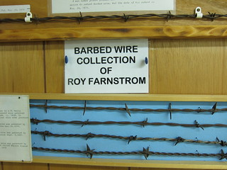 barbed wire collection of roy farnstrom | by you can count on me