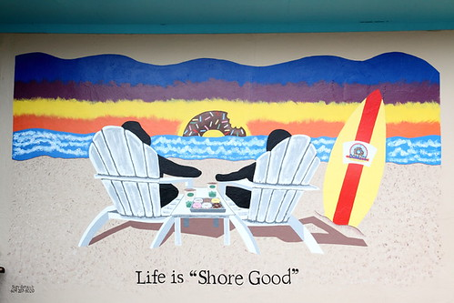 Shore Good Donuts mural, Ship Bottom, New Jersey | by Eating In Translation