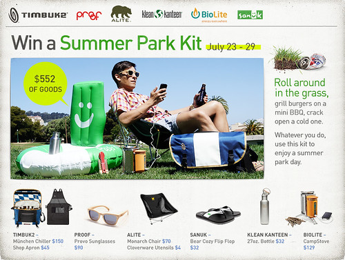 Summer Park Kit main image | by Timbuk2 Designs