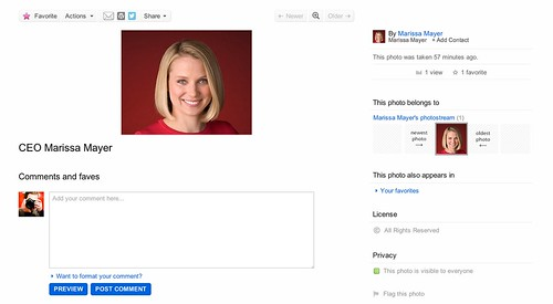 Welcome to Flickr Marissa Mayer | by Thomas Hawk