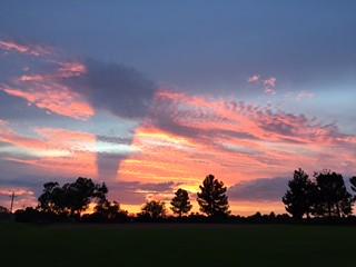 sunset clouds2