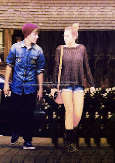 Out & About in Hollywood Justin with Miley | by Mare Skybernathy