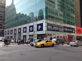 NFL Shop Building Wrap NYC | by Blue Outdoor