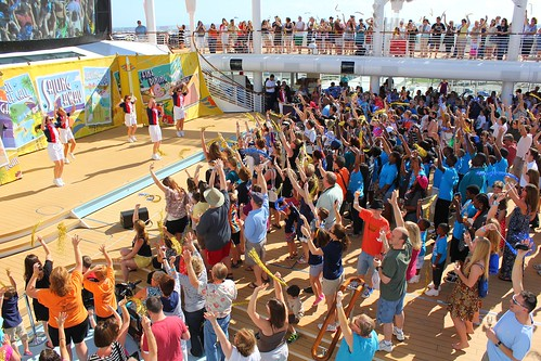Sail away party on Disney Fantasy | by insidethemagic