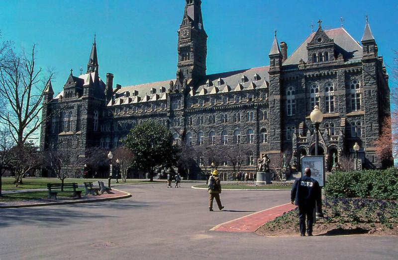 20000305 14 Georgetown University, Washington, DC