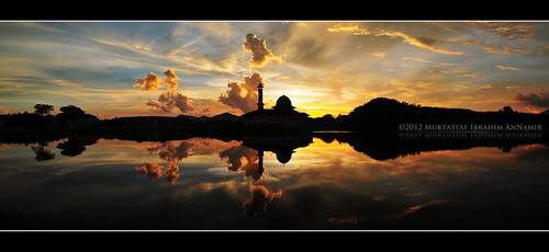 Sunset at DQ on 22.04.2012 | Panorama | by AnNamir™ c[_]