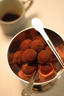 chocolate truffles | by David Lebovitz