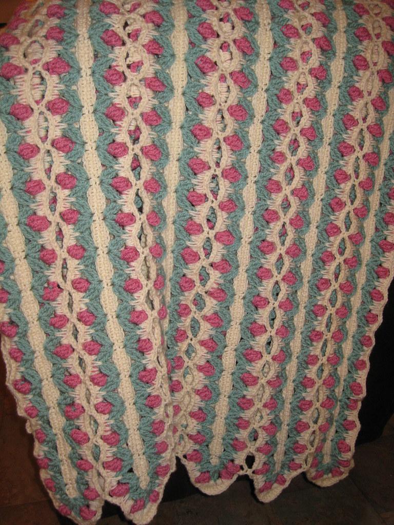 Crochet Rose Afghan Dkc22 Flickr