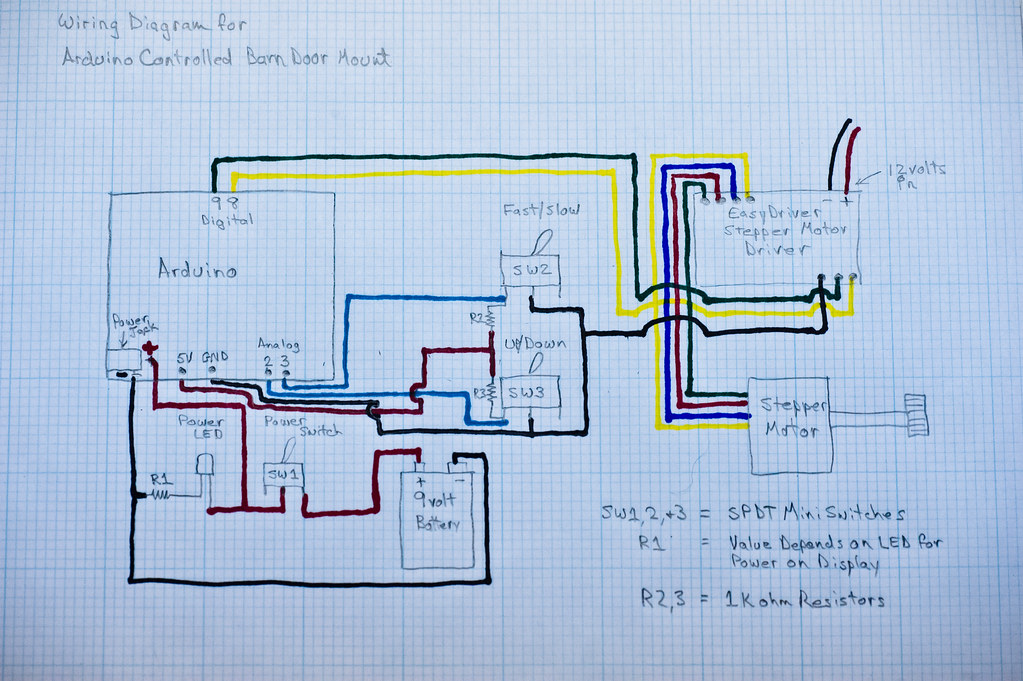 arduino controlled barn door project wiring diagram flickr rh flickr com