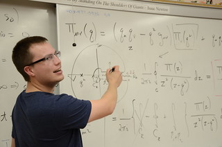 Timothy Richards, third-year physics student | by University of the Fraser Valley