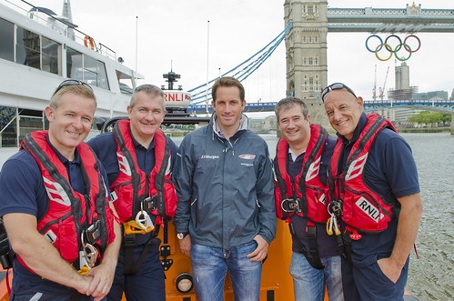 Ben Ainslie meets Tower Lifeboat crew | by JP Trenque