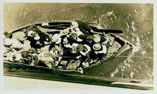 Passengers of the sunken liner TAHITI await transfer to VENTURA | by Australian National Maritime Museum on The Commons