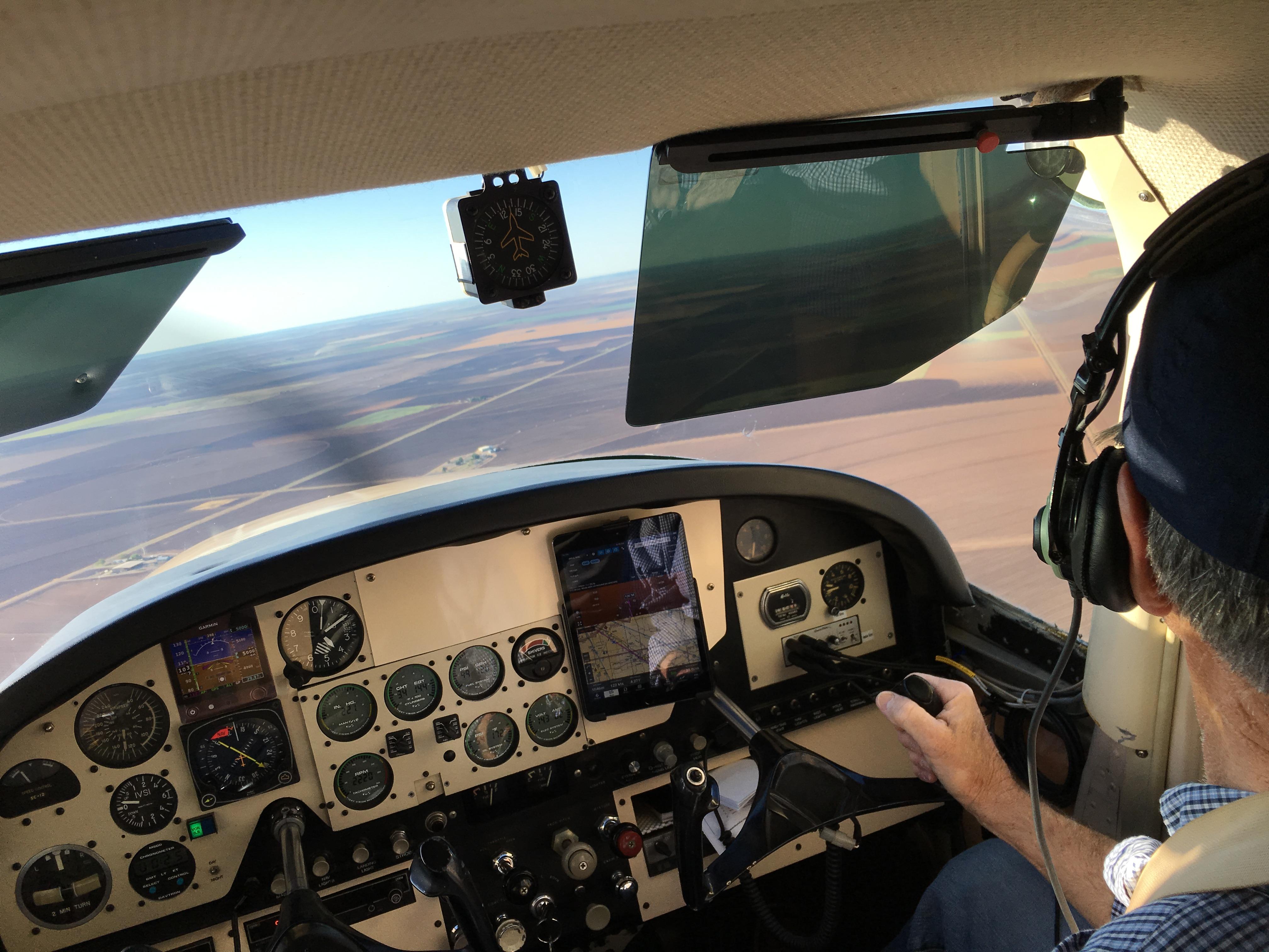 Panel mounted iPad - Cessna 180? - Backcountry Pilot