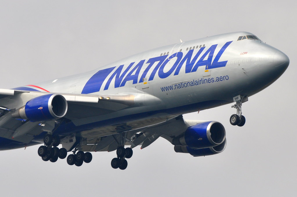 Image Gallery National Airlines 747 400