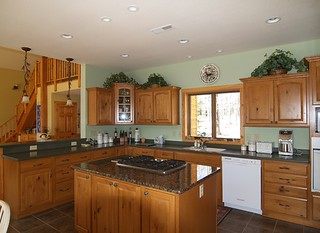 Remodeled Kitchen | by North Twin Builders