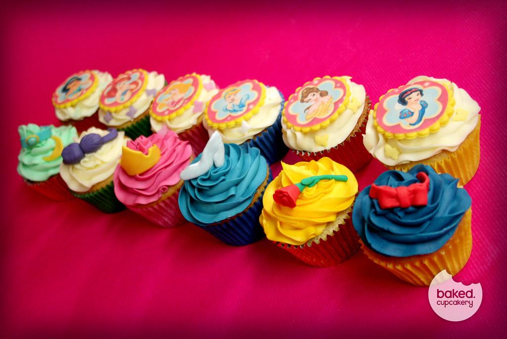 Disney Princess Cupcakes Disney Princess themed cupcakes Flickr