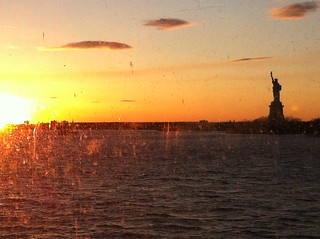 Statue of Liberty at sundown | by DemeterInteractive