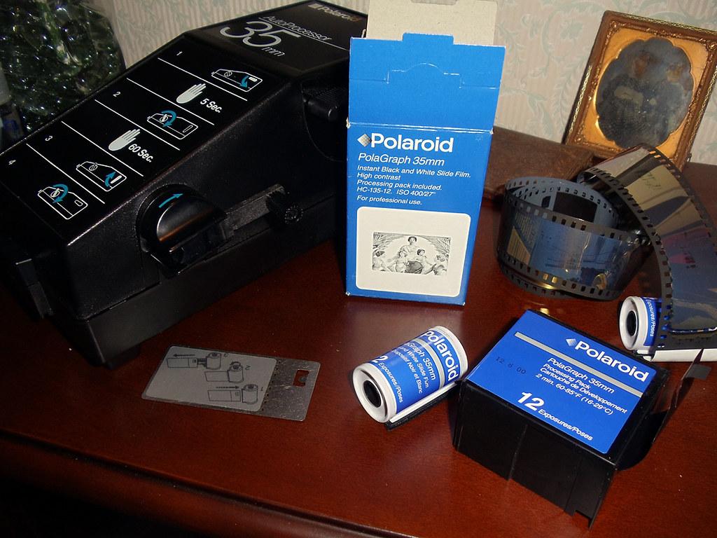 polaroid instant slide film and processing system flickr