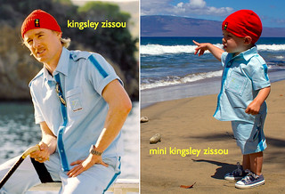 kingsley zissou and mini kingsley | by skirt_as_top