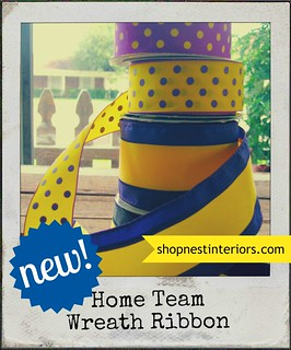 Home Team Wreath Ribbon | by nestinteriors