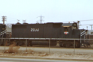 Missouri Pacific GP38-2 #2030 At East Yard, Los Angeles | by emd111